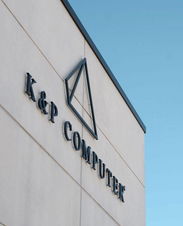 Bild Gebäude Logo K&P Computer