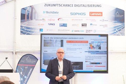 Veranstaltung zum Thema Digitalisierung