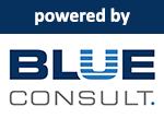 powered bei BLUE Logo
